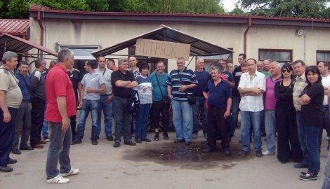 """Добијају претње да ће бити отпуштени: Радници """"Фрада"""""""