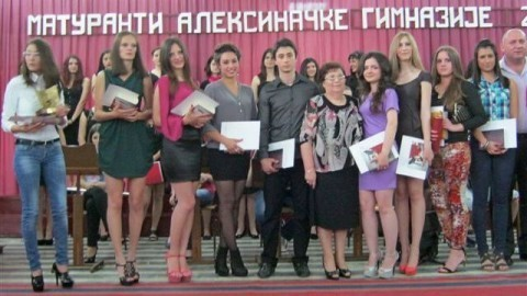 Vukovci Aleksinačke gimnazije