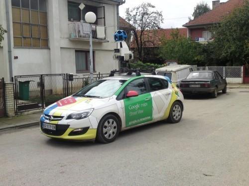 Гугл аутомобил у Алексинцу
