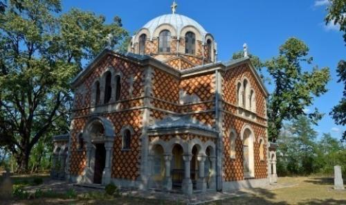Црква Свете Тројице у Горњем Адровцу посвећена пуковнику Рајевском
