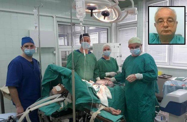 У Алексиначкој болници успешно извађен тумор од осам килограма