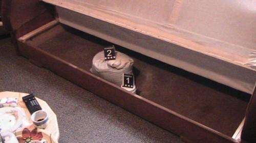 Džak pun marihuane sakrio ispod kreveta (FOTO)