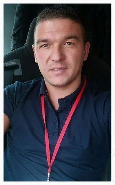 Милан Здравковић - возач