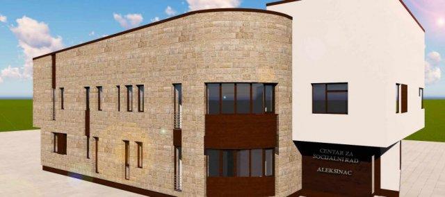 Završne pripreme za novu zgradu Centra za socijalni rad