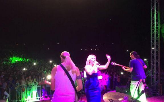 Goca Tržan fenomenalnim koncertom oduševila publiku u Aleksincu