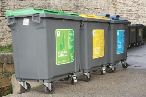 550 нових пластичних контејнера за смеће за села на територији Општине Алексинац