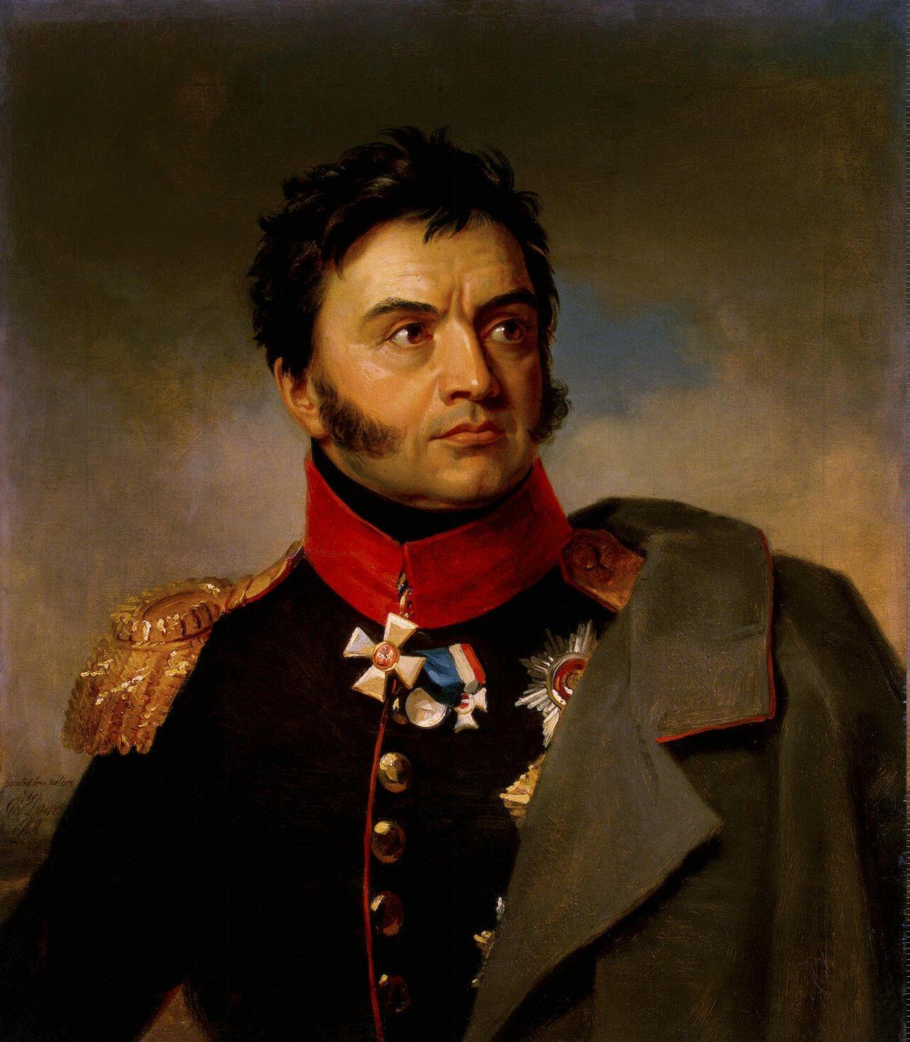 Николај Рајевски, истоимени деда пуковника Рајевског