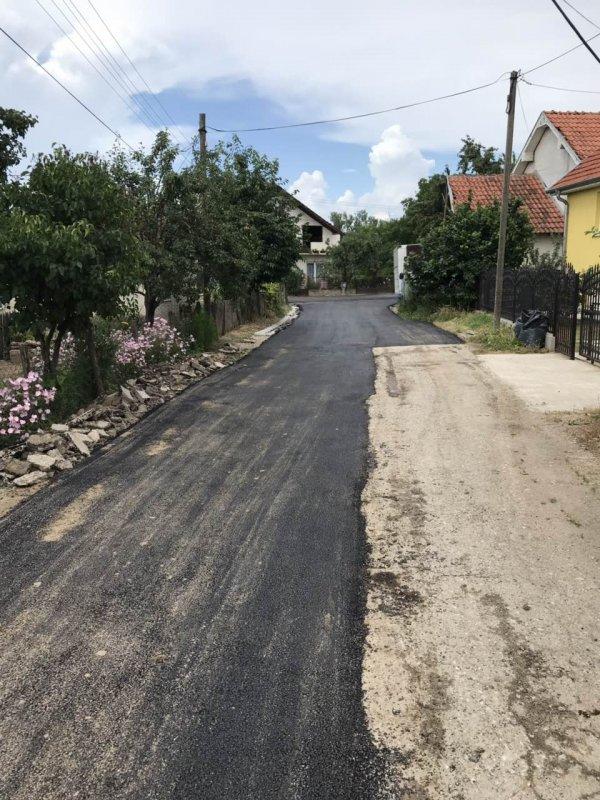 Замерке на асфалтирање Солунске улице