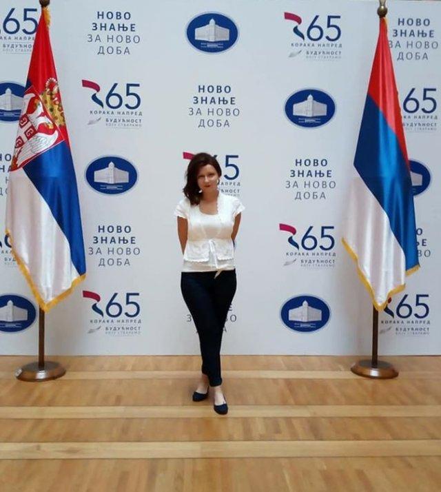 Ирена Раца у тиму најбољих српских доктораната