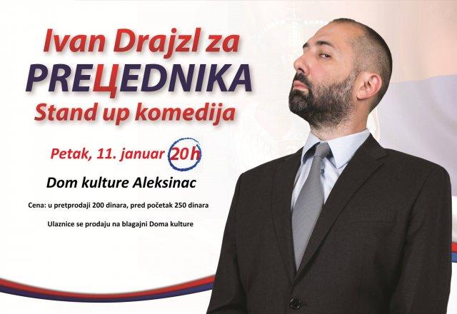 Ivan Drajzl gostuje u Aleksincu
