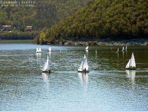 Jedrenje na bovanskom jezeru