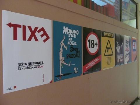 У Алексинцу јединствена изложба афоризама на плакатима