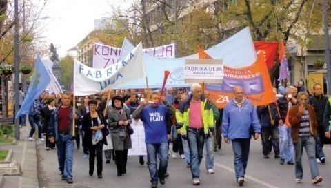 Радници и њихова права, уранци и протести