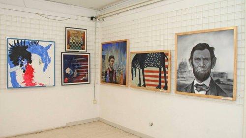 Млади српски академски сликари Америци