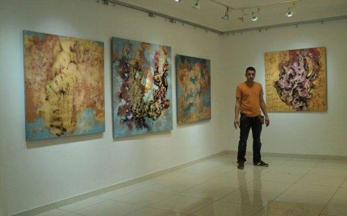 Изложба слика Душана Митића: Хипер илузија
