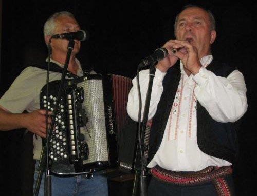Виобран Марковић (хармоника) и Драги Николић (фрула) из Мозгова