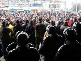 leskovac, protest veterani