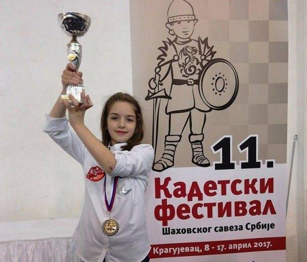 Нови успех Анастасије Војиновић: Друго место на првенству Србије