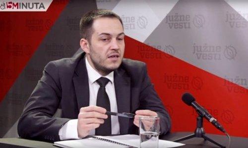 Čedomir Rakić u emisiji 15 minuta Južnih vesti