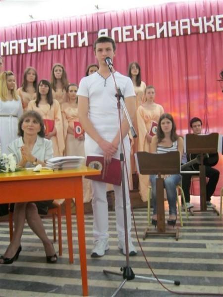 Darko Stevanović treći na besedništvu