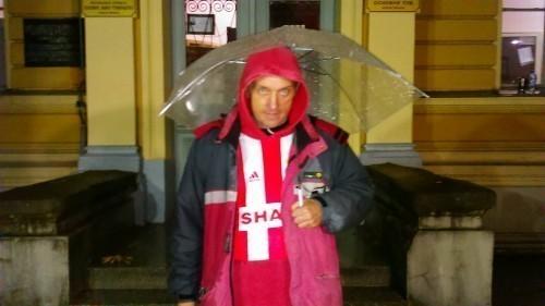 Vratite mi sina: Dejan Labović ispred zgrade suda