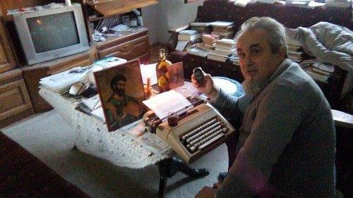 Dragiša Marković, srpski književnik bez struje