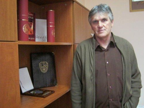 Glavni operativac, direktor Aleksinačke gimnazije, Kosta Crnčević, foto: Dušan Stevanović