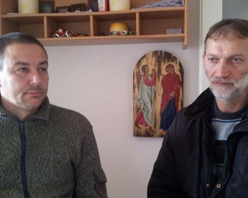 Nebojša Stanojević i Predrag Tomić