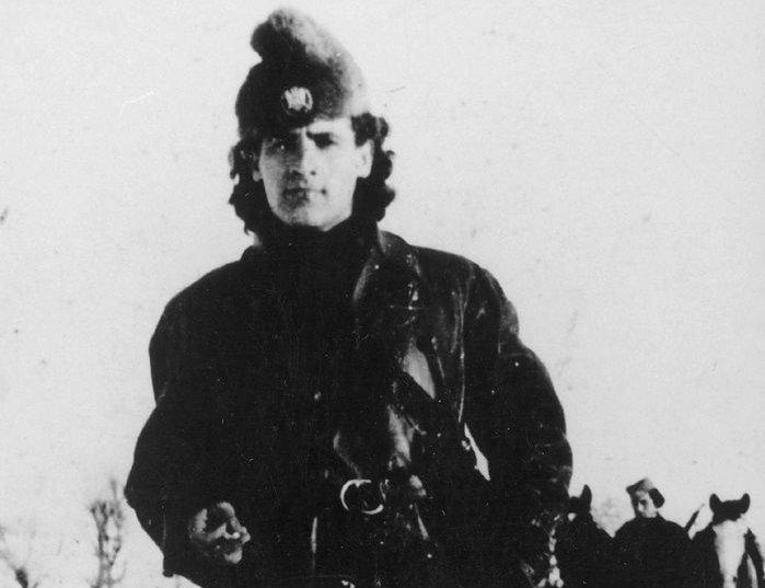Радомир Петровић Кент 1944. године