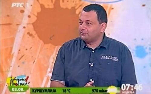 Gostovanje Dr Rodoljuba Živadinovića u Jutarnjem programu RTS-a