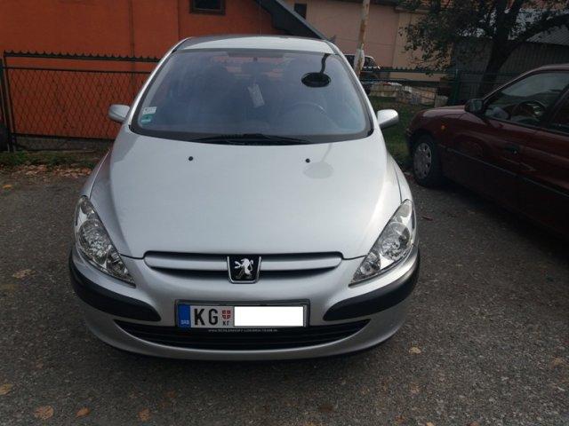 Peugeot 307 1.6 SALON 13 meseci reg