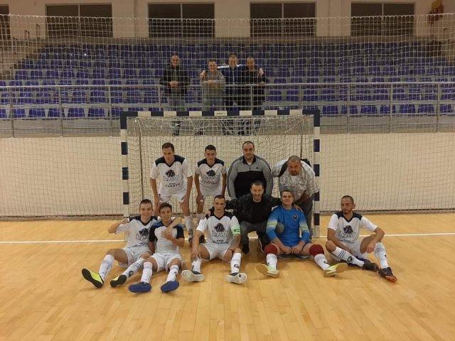 Екипа Брђанке након победе у Белој Паланци