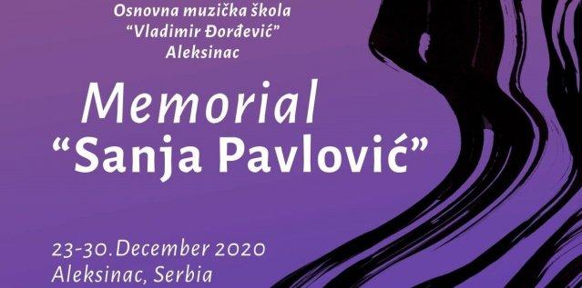 """Одржано прво пијанистичко онлајн такмичење """"Меморијал Сања Павловић"""""""