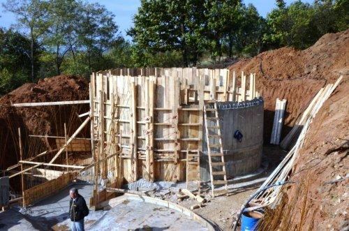 Radovi na rezervoarima za vodu u Mozgovu