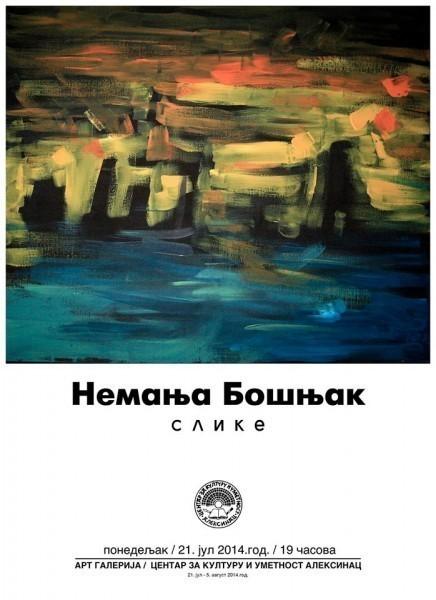 Изложба слика - Немања Бошњак