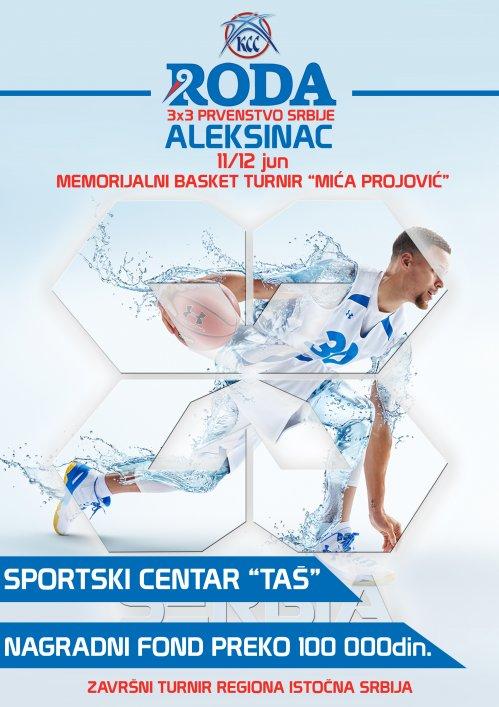 """Šesti Memorijalni basket turnir """"Mića Projović"""""""
