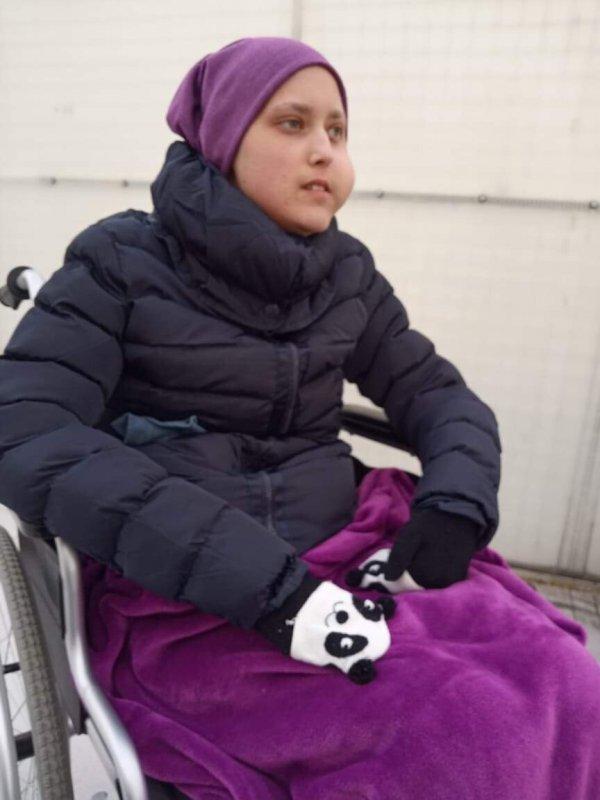 Накић Софија болује од саркома везивног ткива