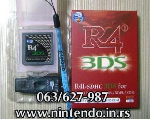 R4i Ultra kartice za Nintendo DS/DS Lite/DSi/XL konzole SVE VERZIJE
