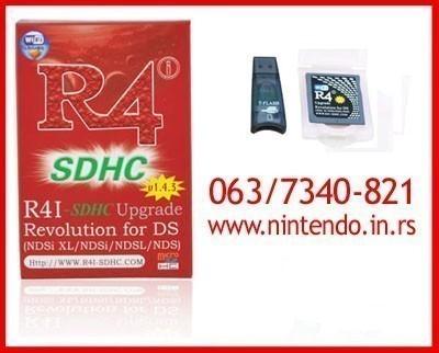 Ultra kartice za Nintendo DS/DS Lite/DSi/XL konzole SVE VERZIJE
