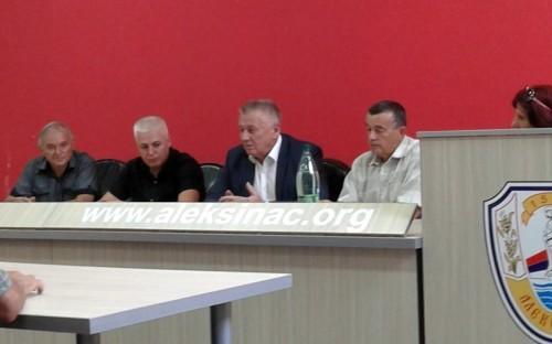 Ministar i predsednik Nove Srbije posetio Aleksinac i Opštinski odbor Nove Srbije