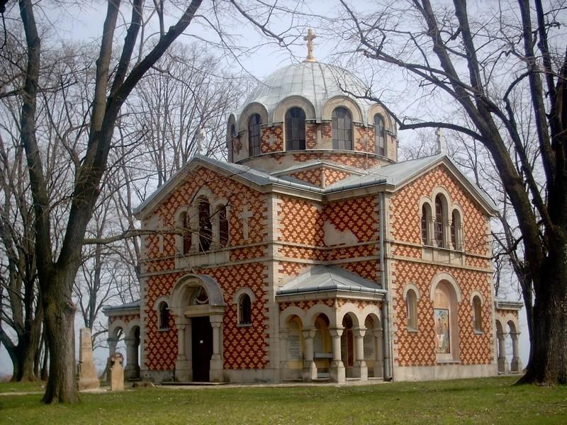 Црква подигнута на месту погибије