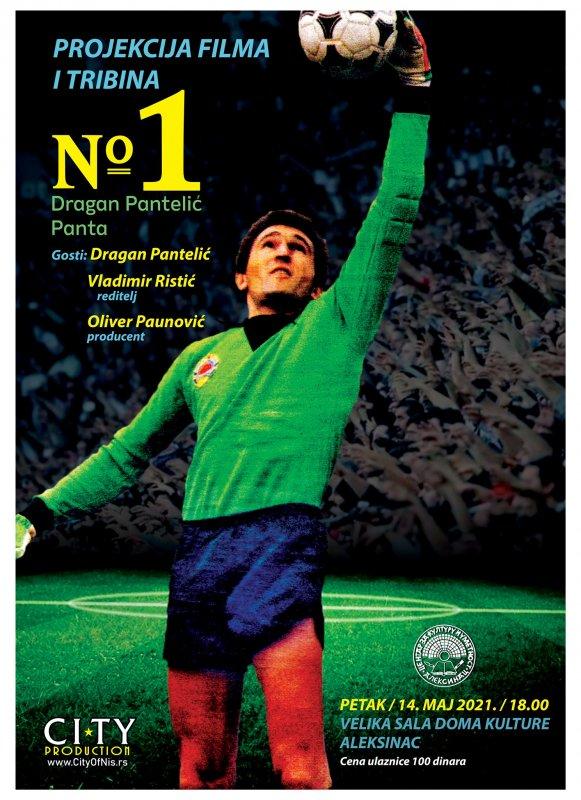Projekcija i tribina o Draganu Panteliću, fudbalskom asu