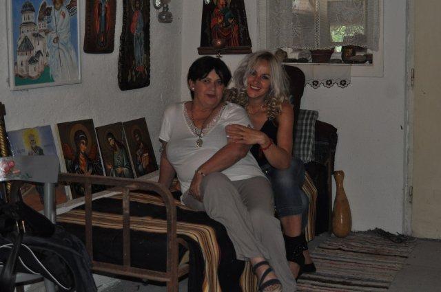 Поставка икона у Галерији Етно куће, Светлана Биорац и Слађана Ивановић