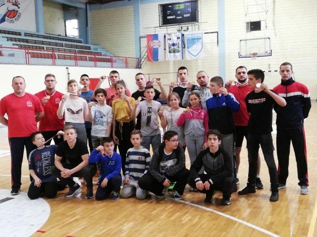 """Veliki uspeh takmičara kluba """"NiF"""" na državnom Prvenstvu Srbije"""