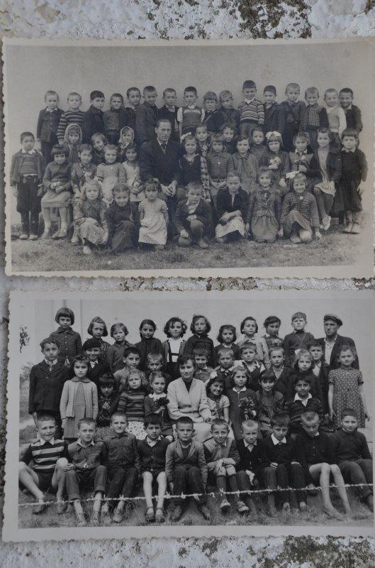 Први и други разред ОШ Рутевац 1956-1958