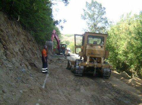 Рехабилитација пута до бране