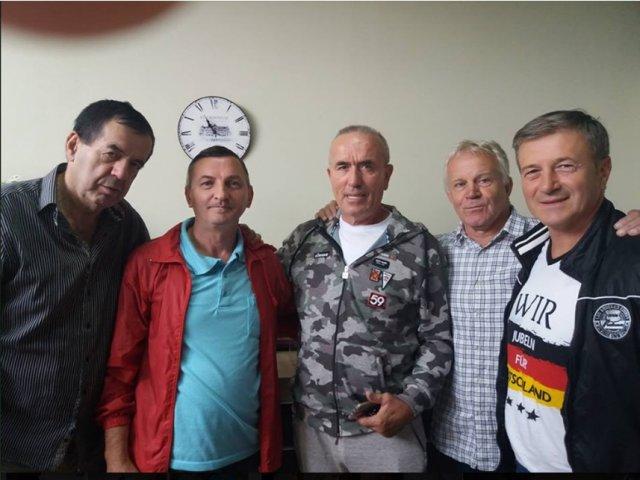 Академик Биочанин са познатим именима из спорта у свету