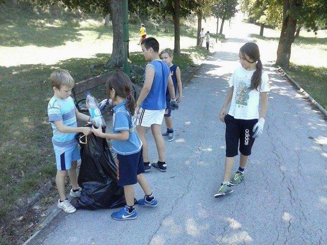 Акција Џудо клуба Алексинац: После тренинга чистили Брђанку