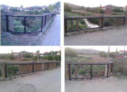 """Постављена заштитна ограда на """"Гробарском"""" мосту"""