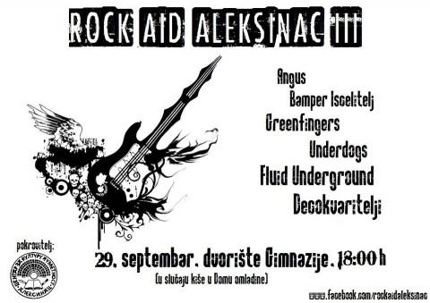 Rock Aid Aleksinac 3 - Таш 29. септембар